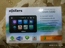 Продам навигатор Oysters chrom 5500