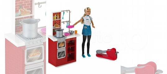 набор кухня с куклой барби купить в москве на Avito объявления на