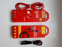 Кабель hoco usb-micro usb, type c. Телефон