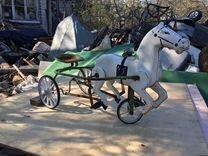 Детская трёхколесная лошадка