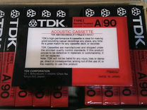 Аудиокассета TDK A90 10 штук
