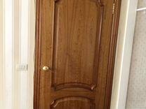 Двери шпон в идеальном состоянии с ручками