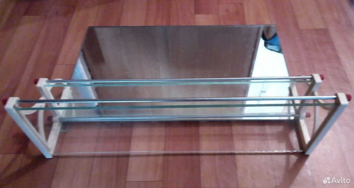Полочка туалетная с зеркалом СССР  89332007666 купить 2