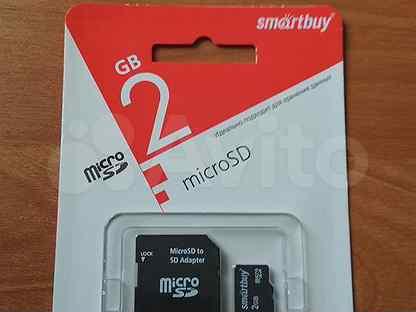 Флеш-карта памяти SmartBuy 2GB