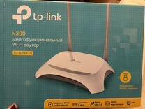 Новый wi-fi роутер TP-link N300