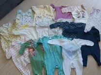 Детская одежда пакетом от 0 до 6