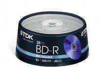 Blu-ray диски TDK BD-R 25 Gb