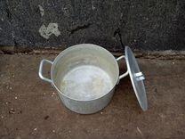 Кастрюля аллюминевая на 20литров с крышкой