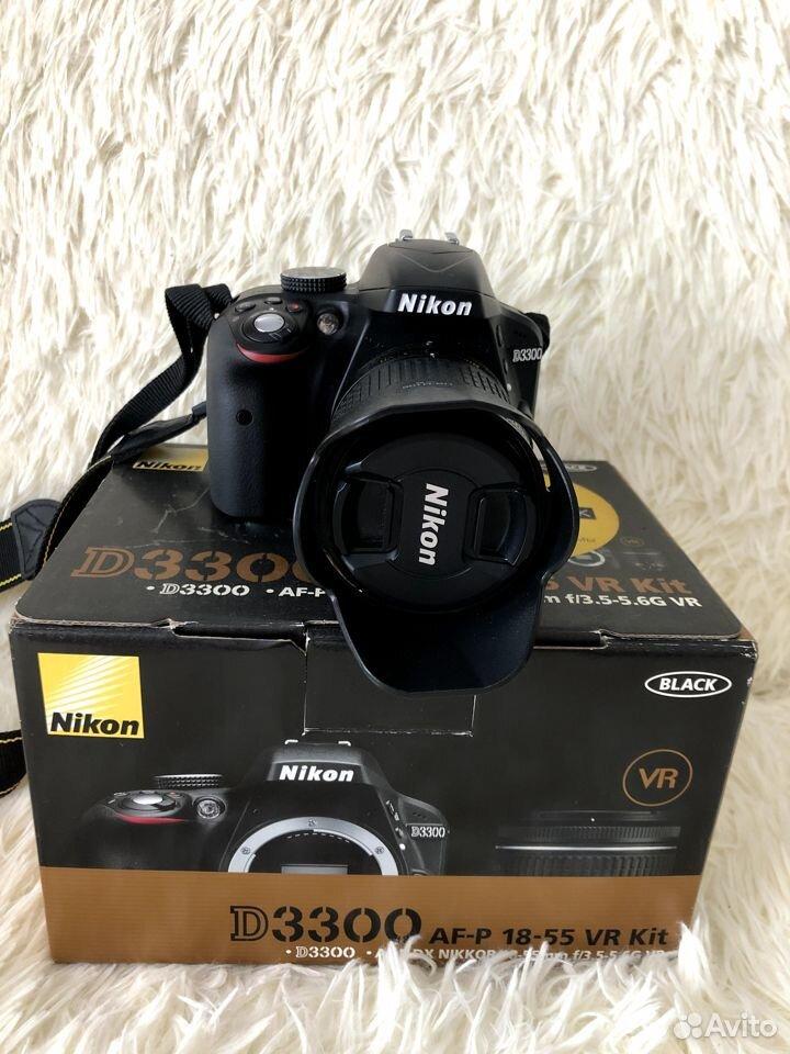 Фотоаппарат Nikon D3300AF-P 18-55VR Kit зеркальный  89177610980 купить 7