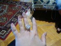 Кольцо золотое. Размер 17