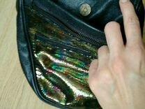 Кожаная дизайнерская сумка SpaceGoat — Одежда, обувь, аксессуары в Москве