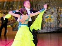 Платье для бальных танцев. Стандарт