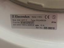 Стиральная машина Electrolux 1077F
