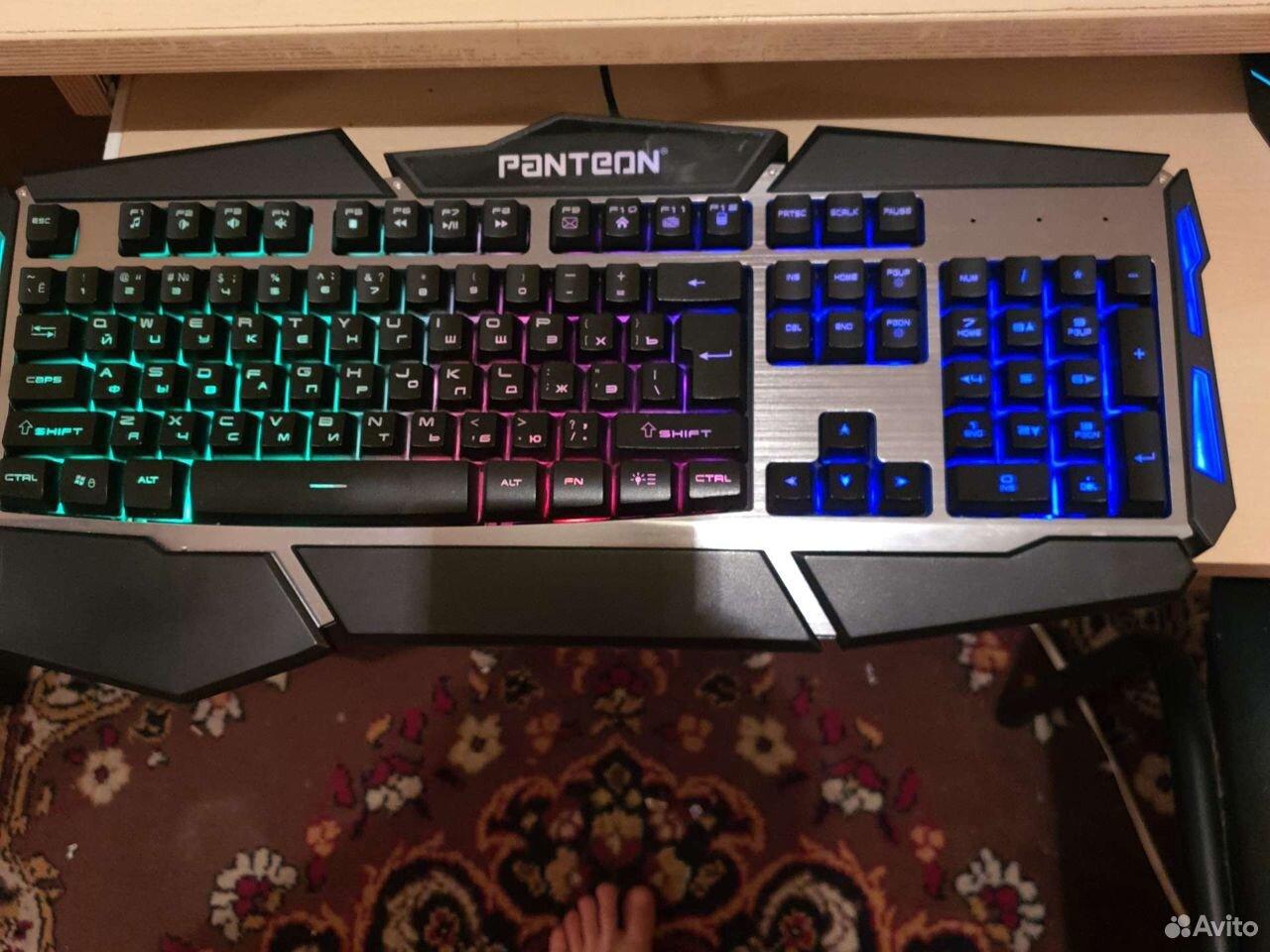 Игровая клавиатура и Игровая мышь