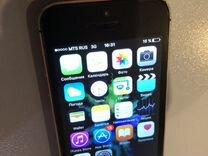 iPhone 5s с отпечатком работает