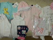 Набор новой фирменной детской одежды(с бирками)